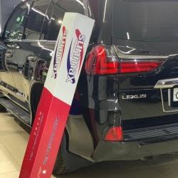 Оклейка полиуретановой пленкой Sunmaxfilms Lexus черный