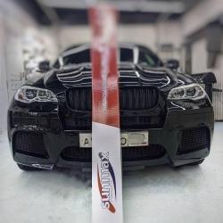 Оклейка полиуретановой пленкой Sunmaxfilms BMW X6