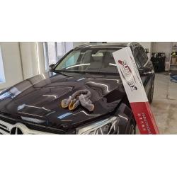 Оклейка полиуретановой пленкой sunmaxfilms Mercedes-Benz черный