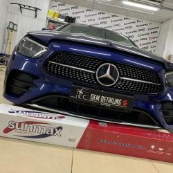 Оклейка полиуретановой пленкой Sunmaxfilms Mercedes-Benz