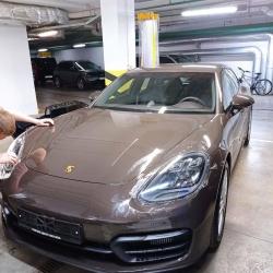 Оклейка полиуретановой пленкой Sunmaxfilms вашего Porsche