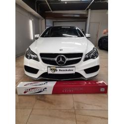 Оклейка полиуретановой пленкой Sunmaxfilms Mercedes белого